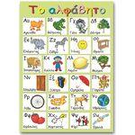 """Εκπαιδευτική αφίσα """"Το Ελληνικό Αλφάβητο"""""""