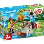 Playmobil 70505 Starter Pack Φροντίζοντας το άλογο